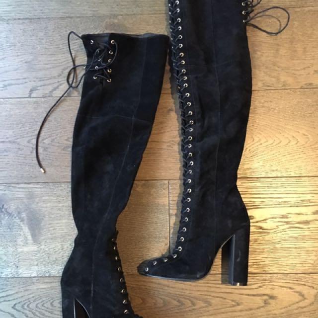 Kookai knee high boots