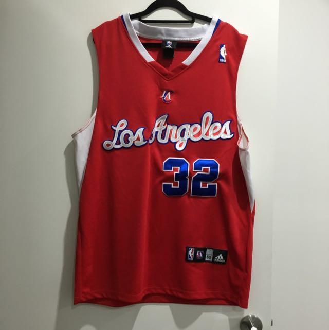 LA Clippers basketball Singlet #32