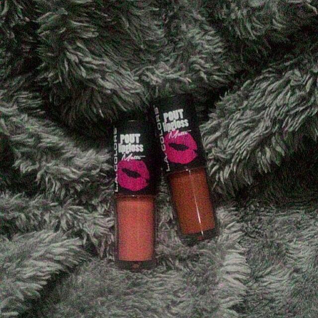 L.A. Colors Pout Lipgloss Matte