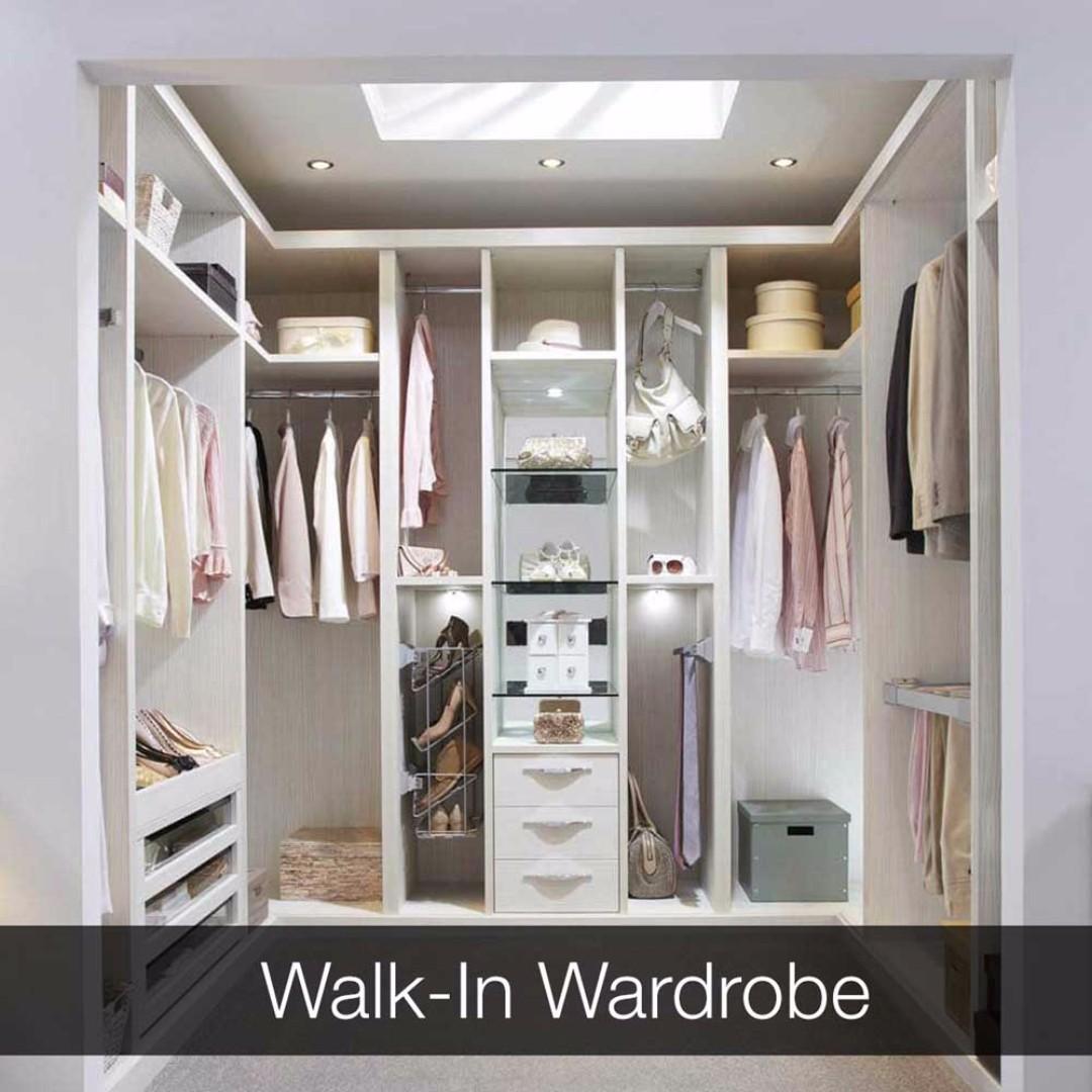 how to install walk in wardrobe