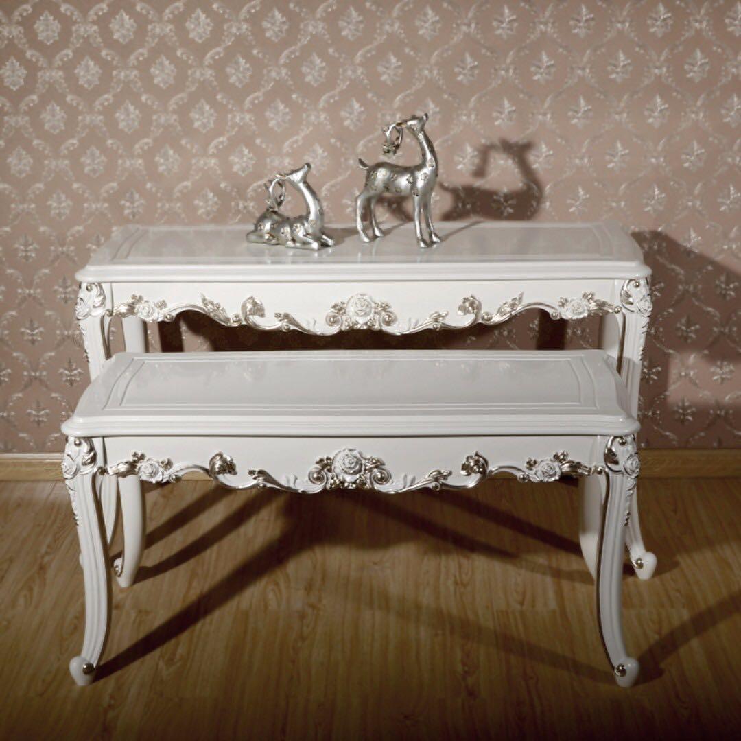 photo photo ... & Lavish Sleek Victorian Coffee table Furniture Tables \u0026 Chairs on ...