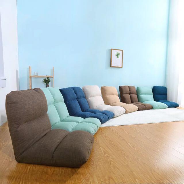 Lazy Chair Foldable Floor Bean Bag Air Sofa Cushion
