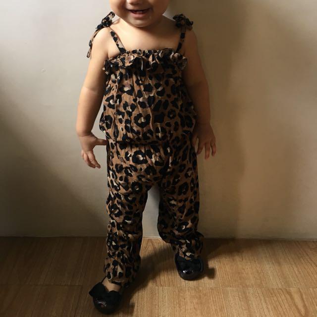 Leopard Romper