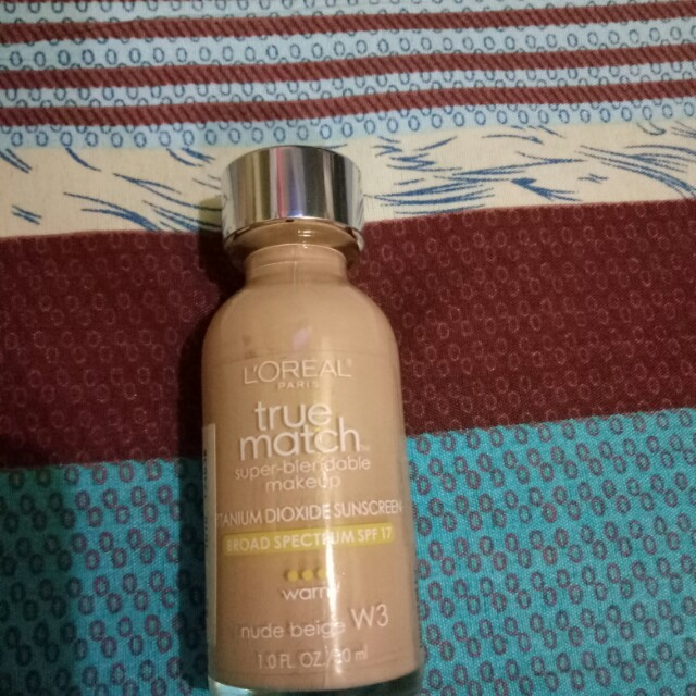 Loreal truematch foundation 85% left