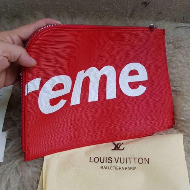 b20d58b464fc Louis Vuitton X Supreme Clutch