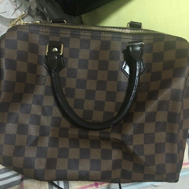 LV Speedy 30 Bandouliere from Ukay Japan Bale