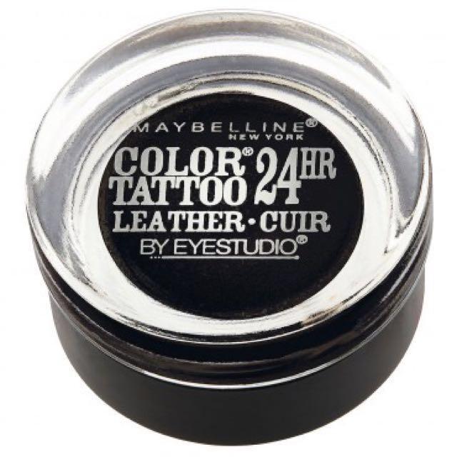Maybelline Colour Tattoo Eyeshadow-Dramatic Black