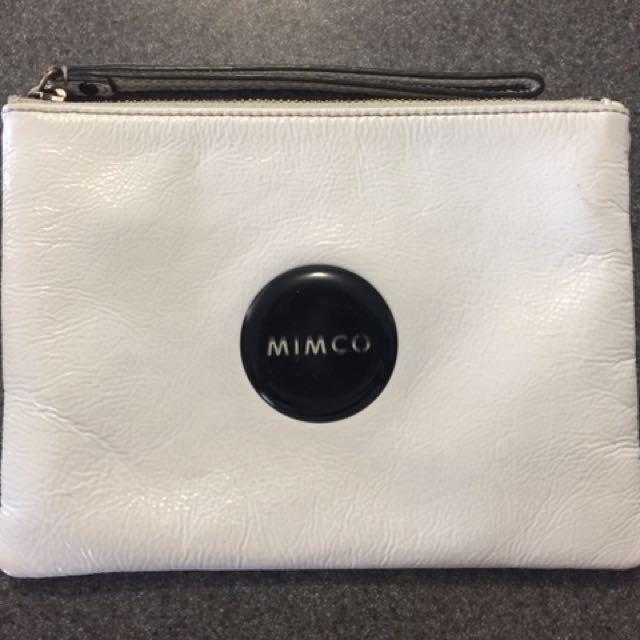 Mimco Medium/ Black Pouch