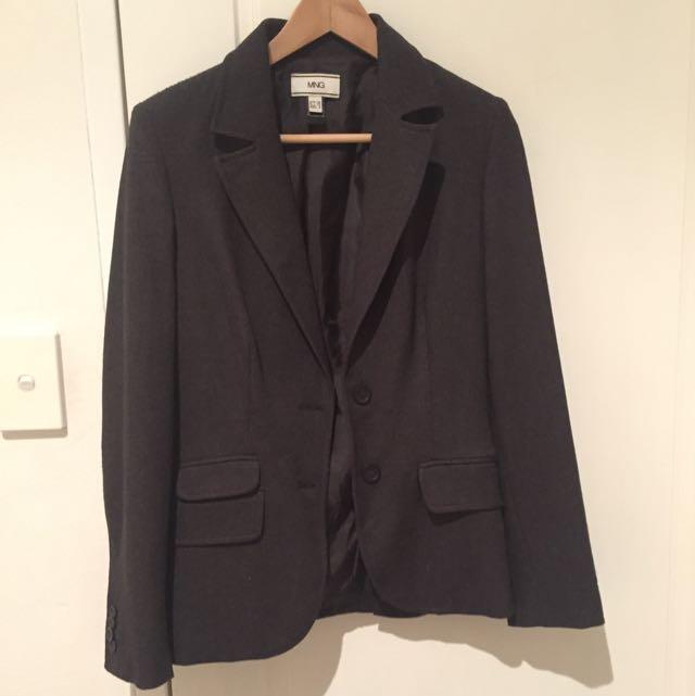 MNG Brown Blazer Size 8