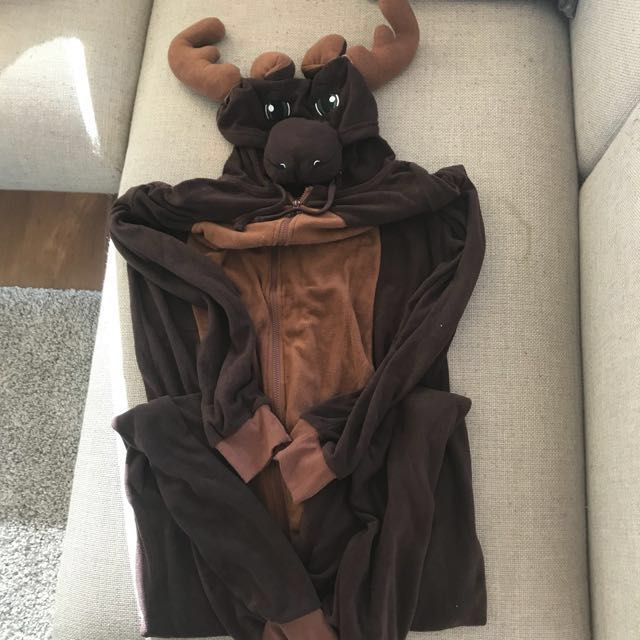Moose Onesie Costume