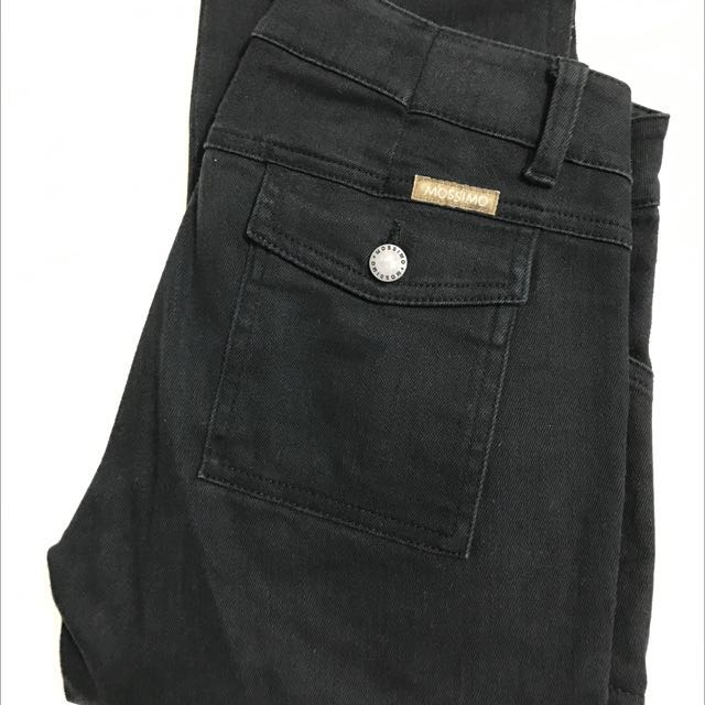 Mossimo Cargo Style Denim Jeans, Size 10