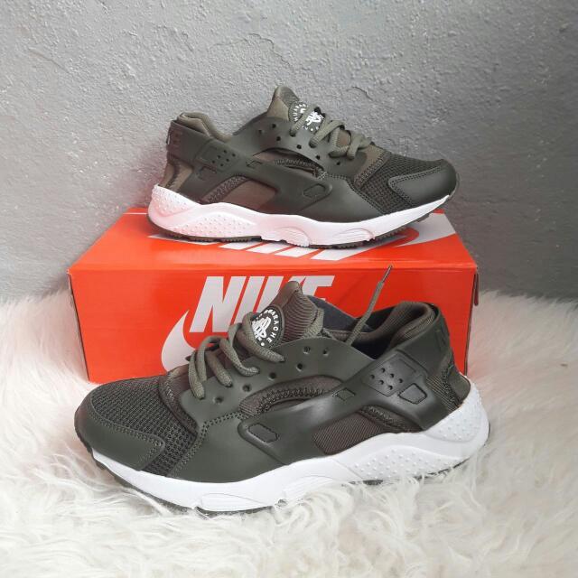 release date: 4b0ab 3a342 Nike Air Huarache Olive Green