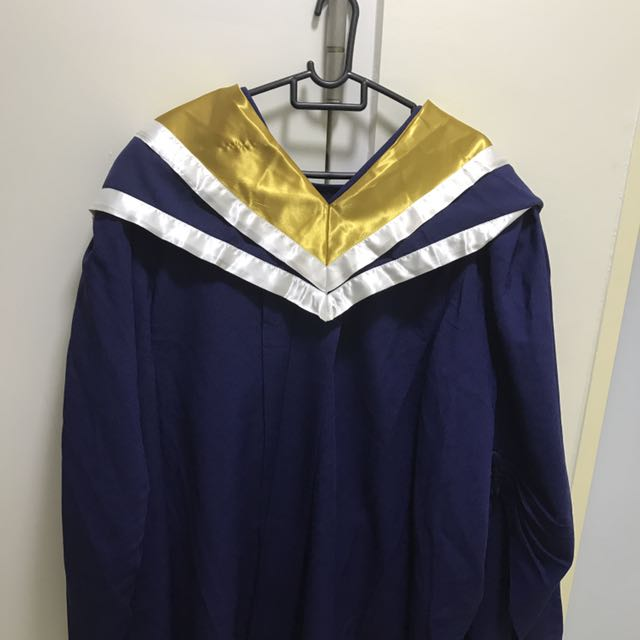 NTU Graduation Gown L size, Men\'s Fashion, Clothes on Carousell