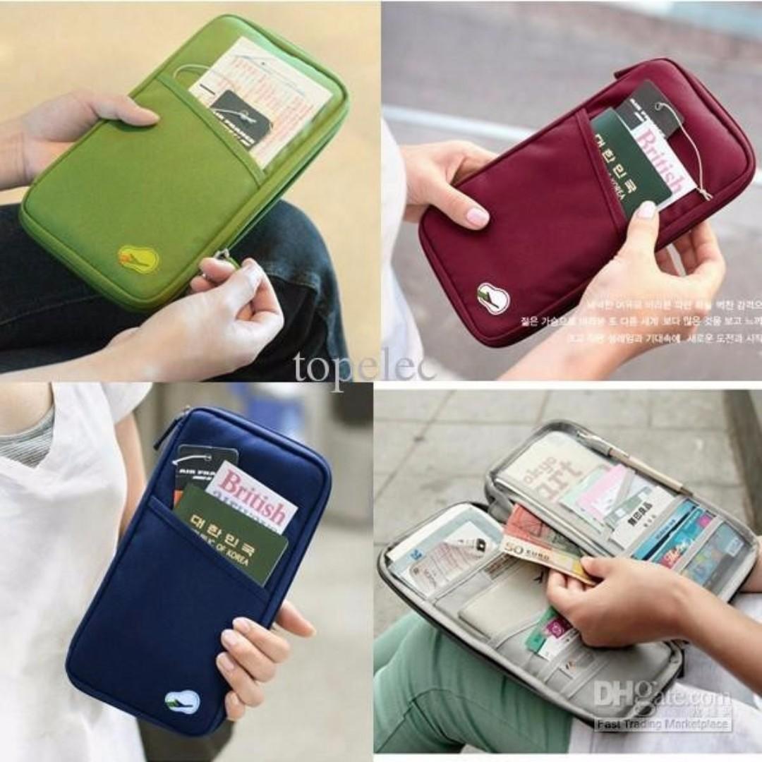 Passport Wallet / Card ID Holder / Dompet Organizer