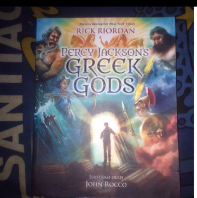 percy jackson: greek gods