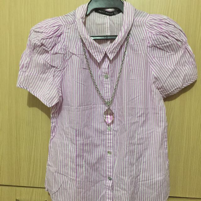 Petit Monde Blouse (Small) (repriced)