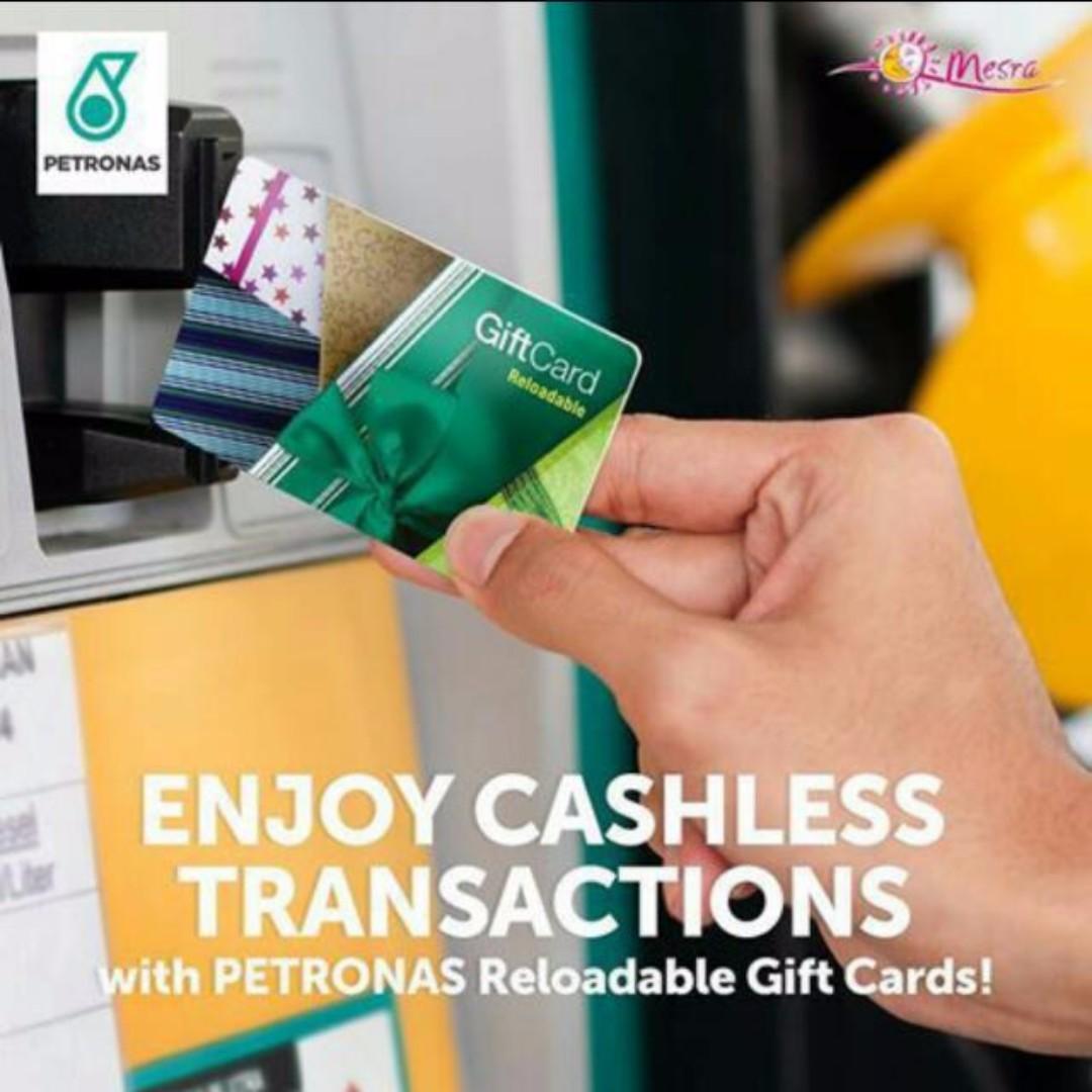 Petronas Fuel Card Reloadable GiftCard Kad Jimat Minyak RM100