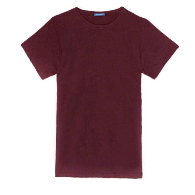 Plain T-shirt 100% no stretch after wash