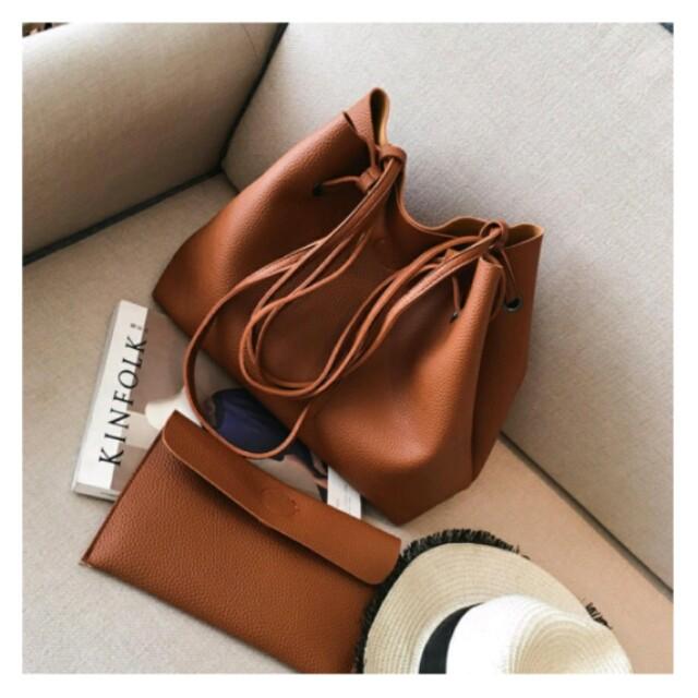 PROMOTION!! Premium PU Sling bag Shoulder Bag (Brown/Red/Black)