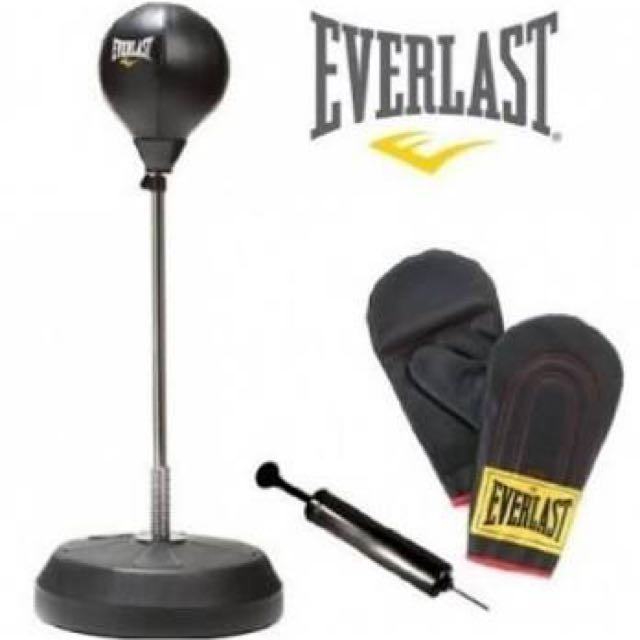 Punching stand bag everlast speed ball get ready for THE SUMMER