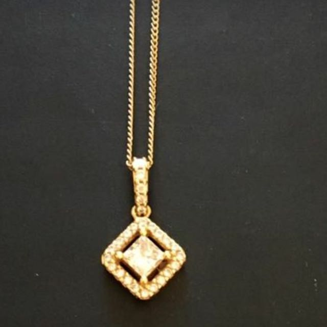 Rand diamond pendant rrp3599 (Mazzuchellis)
