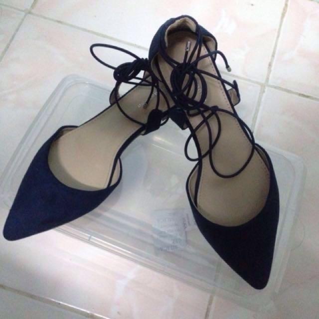 (REPRICE) Primadonna lace shoes
