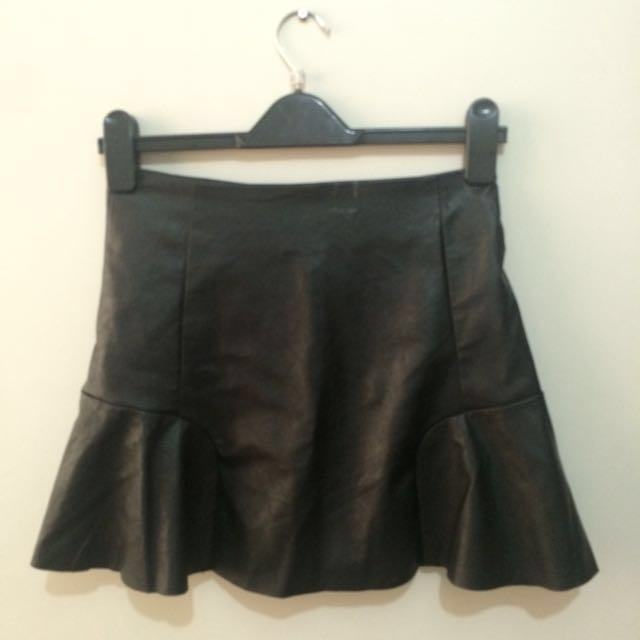 Repriced Banana Republic Leather Skirt