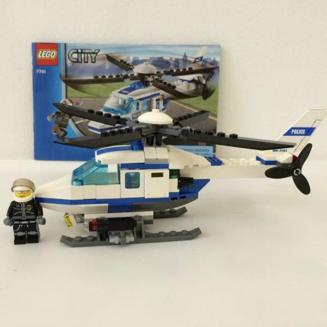 Reservedlego City 7741 Police Helicopter Toys Games Toys On