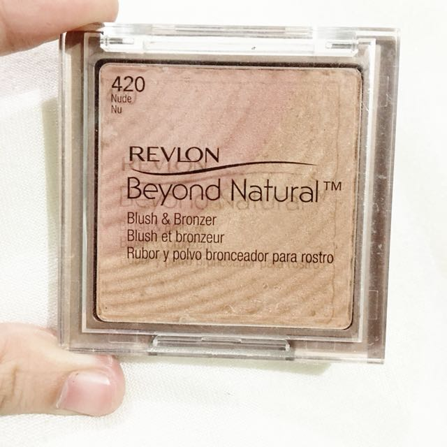 Revlon blush and bronzer
