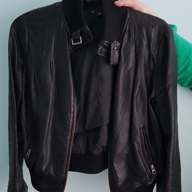 Saba Leather Jacket [Free Shipping]