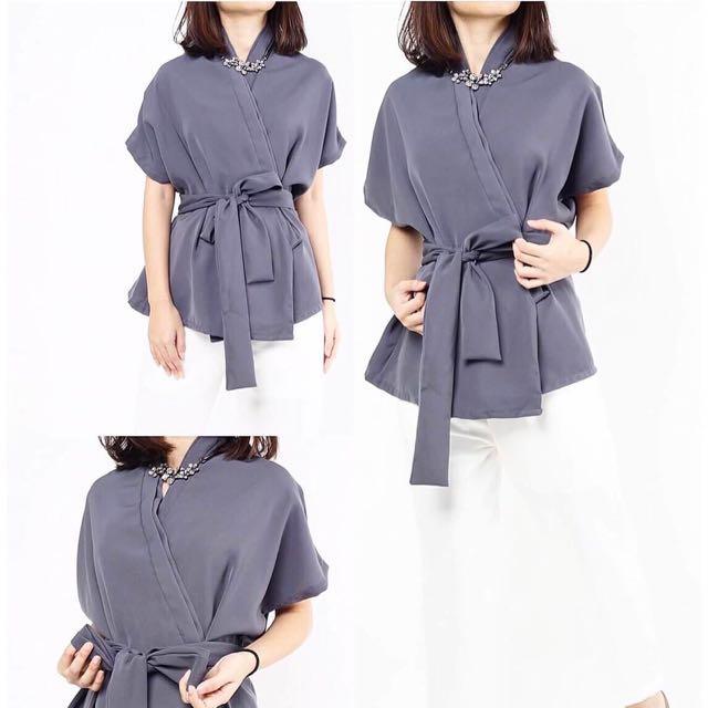 SALE Kimono tie top