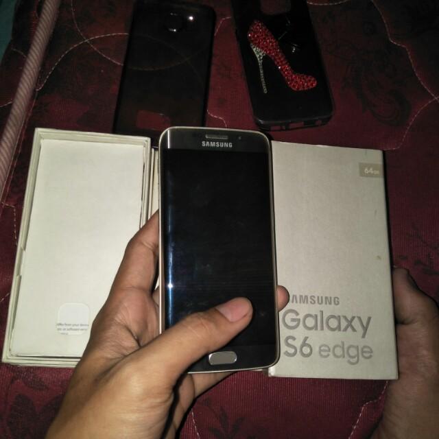 Samsung s6 edge 64gb gold