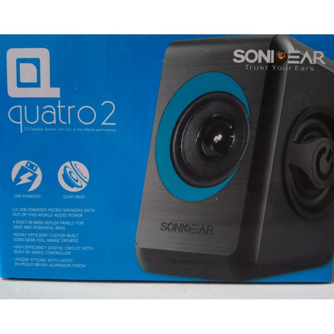 Sonic Gear Speaker Quatro 2 Biru Daftar Harga Terkini Terlengkap Super Loud 20 Usb By Sonicgear Red