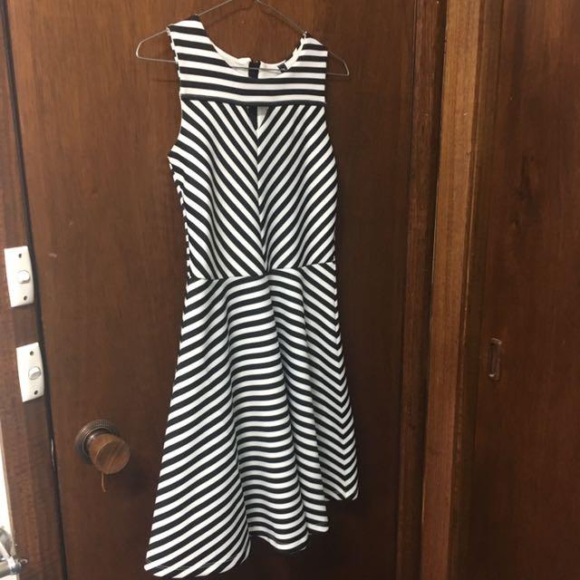 Stripey Party Dress