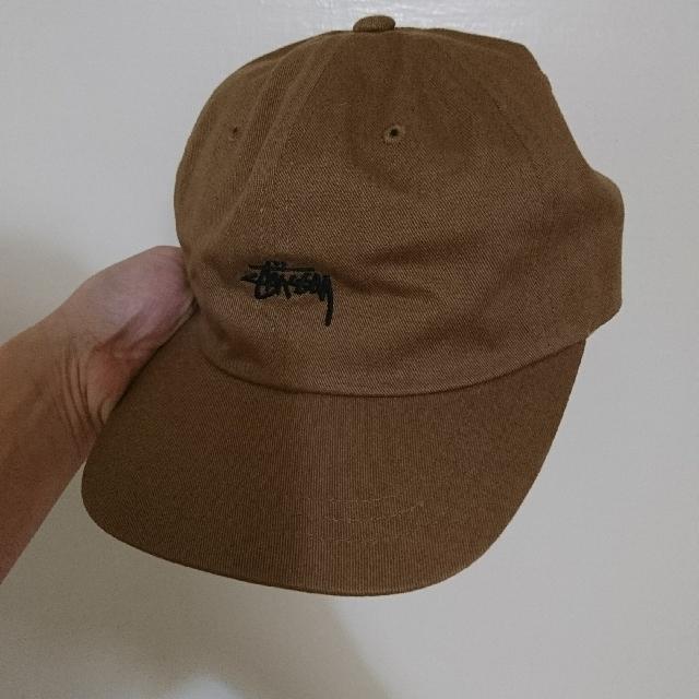Stussy 咖啡 土黃色 老帽 棒球帽 baseball