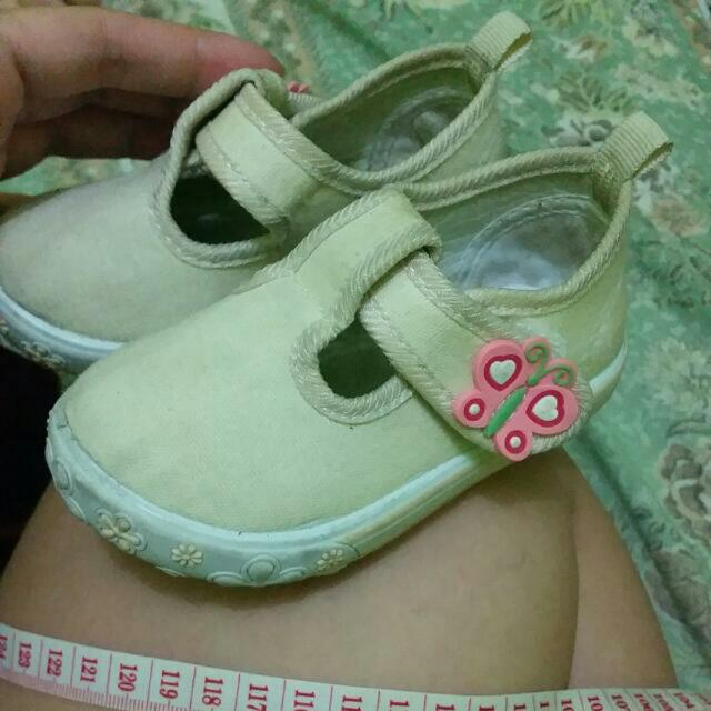 SUGARKIDS CREAM CLOSED SHOES