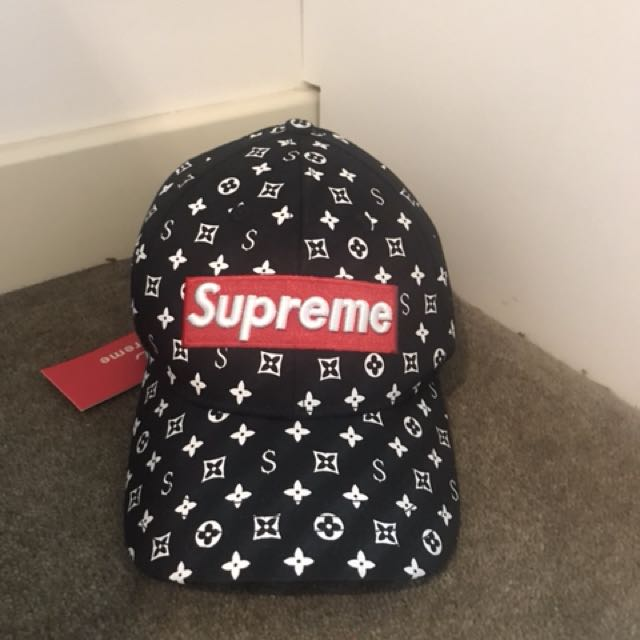 Supreme x Louis Vuitton hat 28d2567f5e8