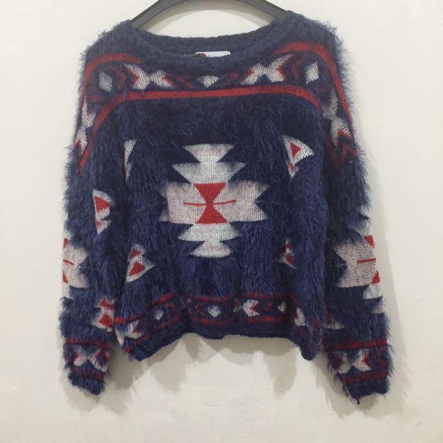 Sweater Bludru