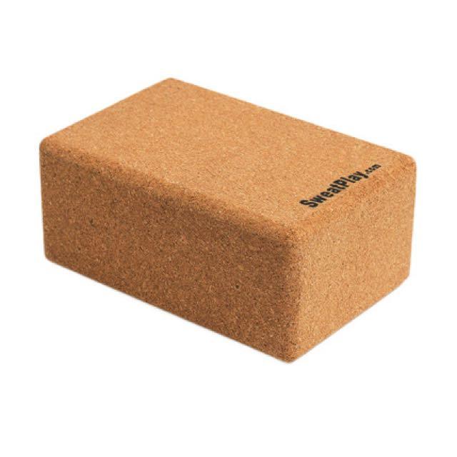 SweatPlay 環保軟木瑜珈磚