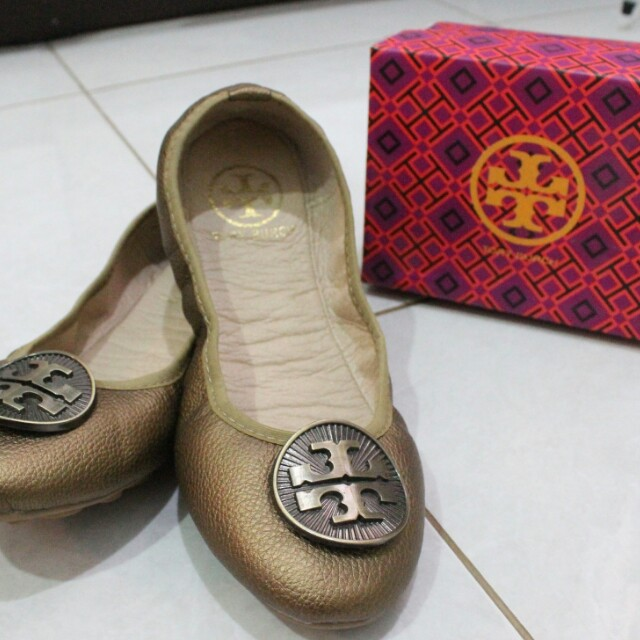 Tory Burch Ballerina Flat Leather