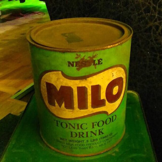 Vintage Milo Tin