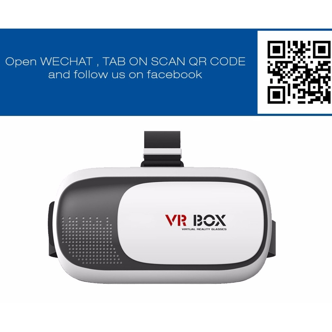 5863018f3b5 VR Box II (VER 2.0) 3D Virtual Reality Glasses Headset Gear ...