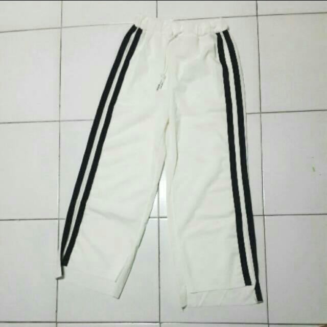 NEW! White Track Pants
