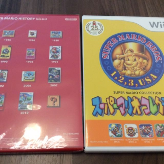 Wii Super Mario Collection 25th Anniversary 25周年日文版