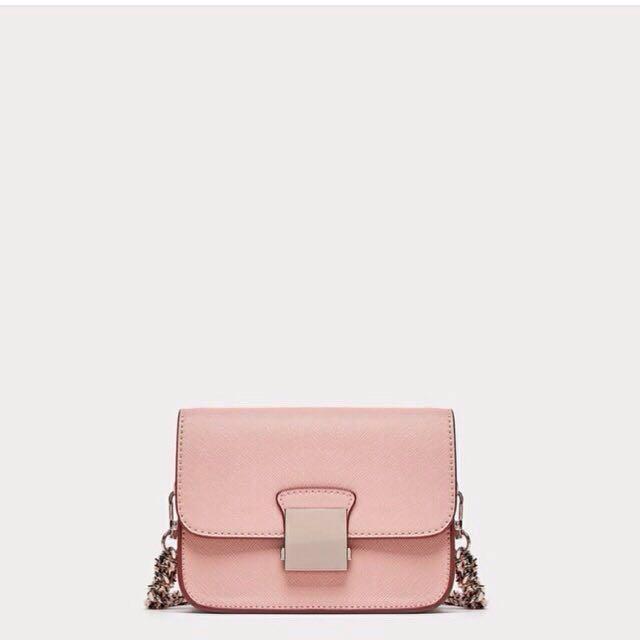 Zara pink bag ori