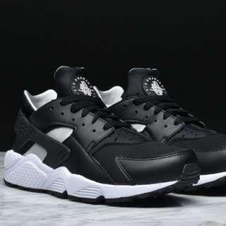 Nike Air Huarache trainer (black/sliver/white) 100%original