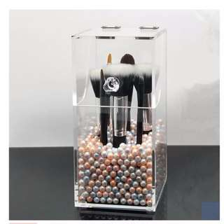 *LIMITED EDITION* Brush Organizer / Holder / Storage with FREE MIXED COLOUR Pearl