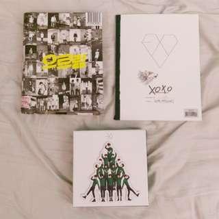 EXO專輯(含小卡)