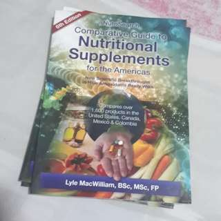 LAST 2 COPIES!! Nutrisearch Comparative Guide 6th edition
