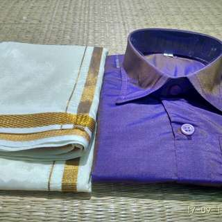 Dhoti & shirt set